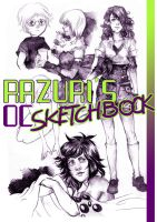 $4.50 PDF OC sketchbook by Lapis-Razuri