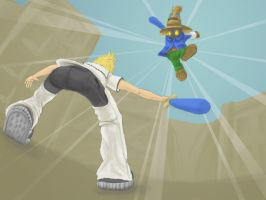 Roxas vs Vivi struggle by SophieHoulden