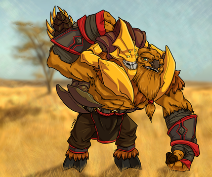 Sandking and Earthshaker Commission 2 by halmtier