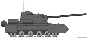 XM2A1 Grizzly Battle Tank by radar651