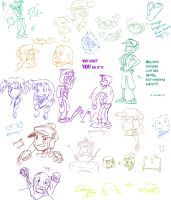 TF2 doodles by s0s2