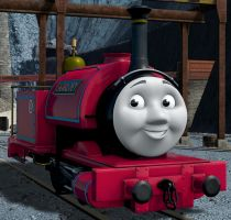 Cab-less Skarloey by The-ARC-Minister