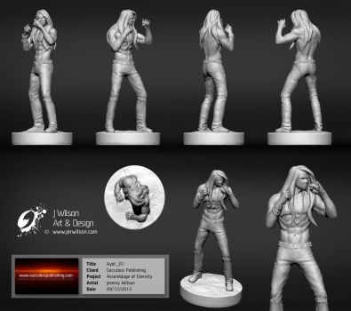Assemblage of Eternity:  Ayel Character sheet by jerwilson