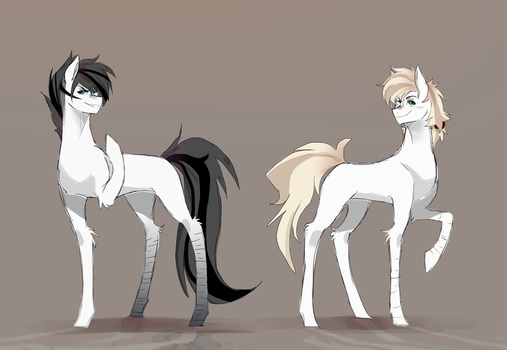 Kaite and Liu   normal version by nederside