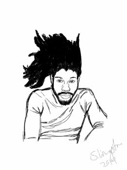 Sketch of Jesse Boykins 3rd  by LittleCritters00