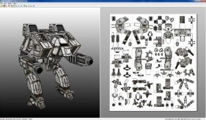 Punakettu Linebacker Mech download by monkeyrum