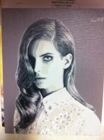 Lana del Rey by Stencils-by-Chase