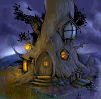 Silvo Treehouse by silvosite