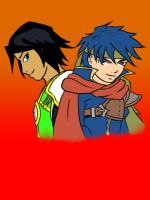 Alex and Ike by beasert