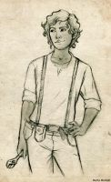 Leo Valdez_ Sketch by MartAiConan