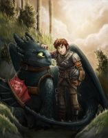 How to Train Your Dragon by Krikin