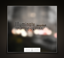 Illuminate WidgetLocker Slider by morgynbrytt