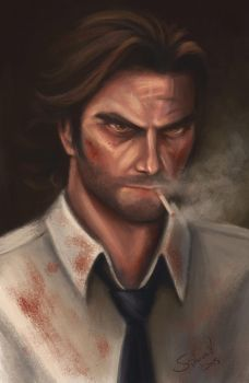 Bigby wolf (Fables: the wolf among us) by Sicarius8