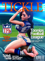 TheTickleMagazine Cover March 2014 by CToon