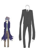 garry and slenderman with awkward by rat-mother