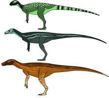 Basal Dinosaurs by StygimolochSpinifer