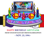 Happy Birthday Artytank by KambalPinoy