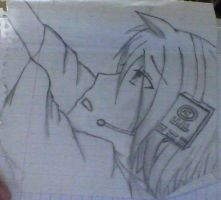 Vocaloid: Len Kagamine - Reaching for Heaven by PinkSea13