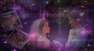 The Wedding of Eugene and Rapunzel by x12Rapunzelx