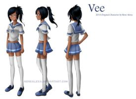 Character Database Project - Vee by renealexa-diary