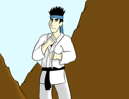 Kung fu Man for Mrpr1993 by LadyQueenBee