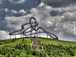 Tiger and Turtle  Magic Mountain HDR by reiner67