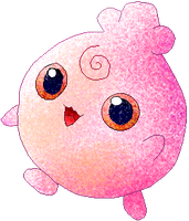 Igglypuff colour by Sulfura
