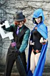 The Riddler and Raven - Sympathy For The Devil by DashingTonyLima