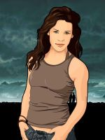 evangeline lilly by gdvectors