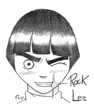 Rock LEE by Fly-Lover