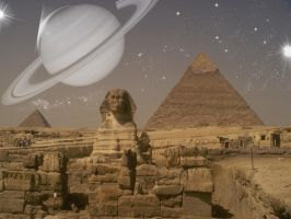 egyptian faraway world by butchen