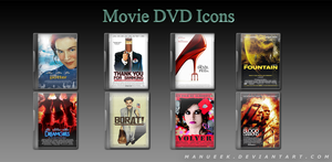 Movie DVD Icons 3 by manueek