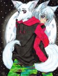Moon Fox.....for Burn03 by KoyukitoriGirl