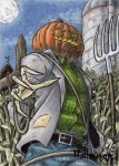 Hallowe'en Sketch Card - Tony Perna 2 by Pernastudios
