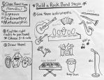 Build a Rock Band instruction sheet by Diana-Huang