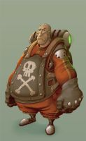 Character Concept X by StMan