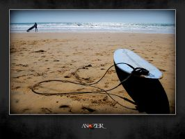 WAITING WAVES by ANOZER