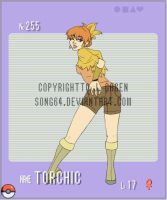 Gijinka Pokemon- Torchic by Song64