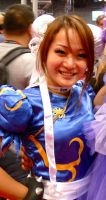 My Chun Li cosplay at New York Comic Con 2012 (2) by ReinaScully