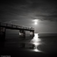 Moonlit Bridge by Casslass