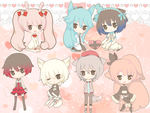 Sticker Chibi Batch 2 by tsunyandere