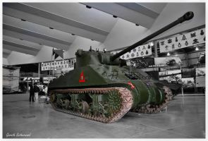 British Sherman Firefly by Grekwood