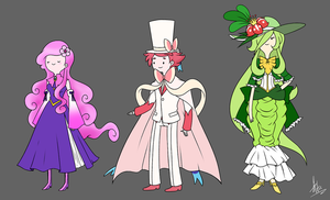 Adventure Time Gijinkas! by Artic-Blue