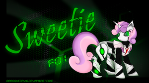 Sweetiebot F01 by BaroqueDavid