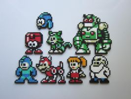 The Mega Family by 8-BitBeadsStudio