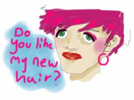 It's a new colour by bealygood