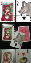 Keychain Playing Cards by Sadyna