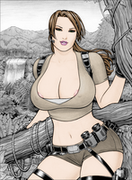 Rplatt's Laura Croft by rockman3453