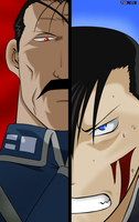 Ling Yao And King Bradley by Toree182