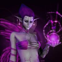 Zhira magic - For ChrisTeL by Aral3D